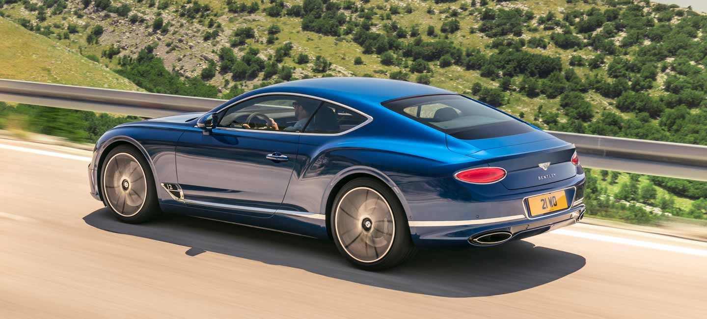 The new Bentley Continental GT | I-M
